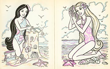 Barbie drawings